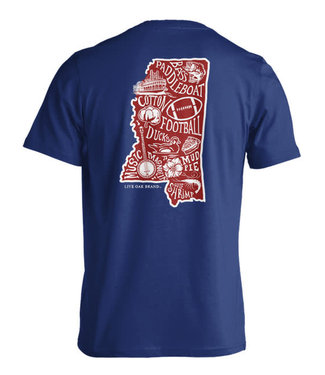 Live Oak Stated Mississippi Tee