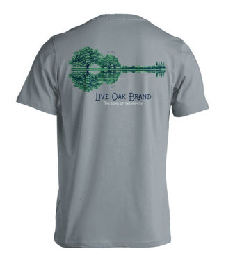 Live Oak Guitar Skyline T-Shirt