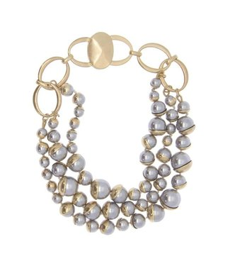 Saachi Celeste Half Moon Necklace