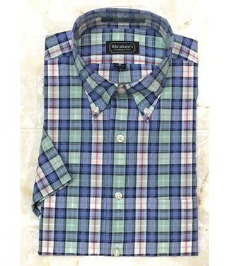 Abraham's Private Label Classic Fit Button Down Shirt