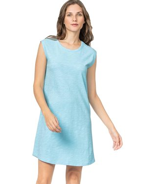 Lilla P Cap Sleeve T-Shirt Dress