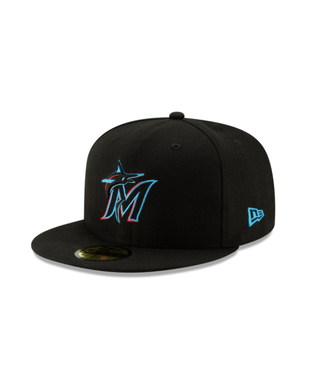 New Era Miami Marlins New Era 59Fifty Fitted Cap