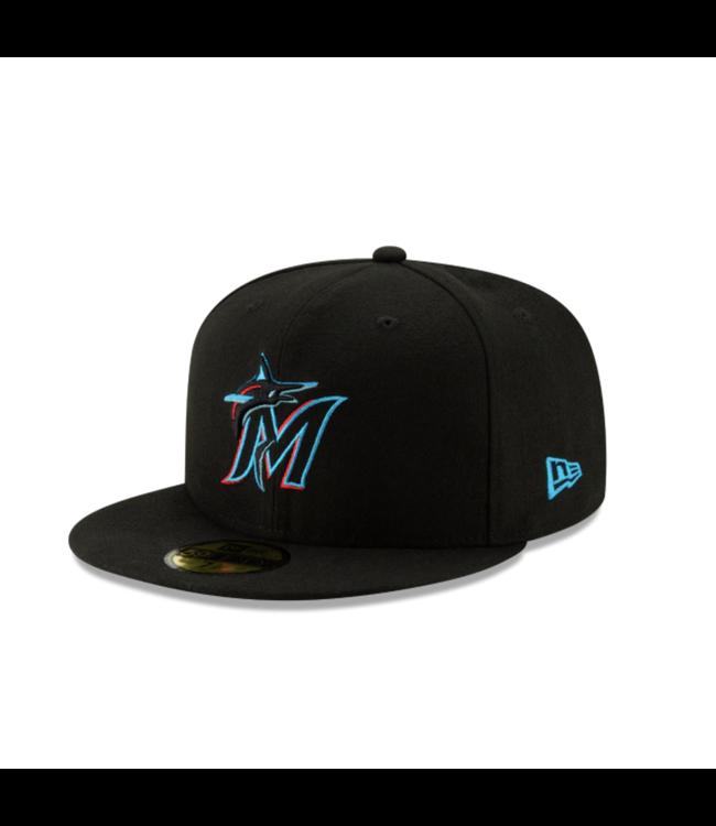 New Era Miami Marlins New Era 59Fifty Fitted Cap