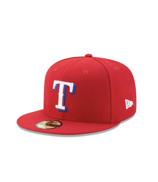New Era Texas Rangers New Era 59Fifty Fitted Cap
