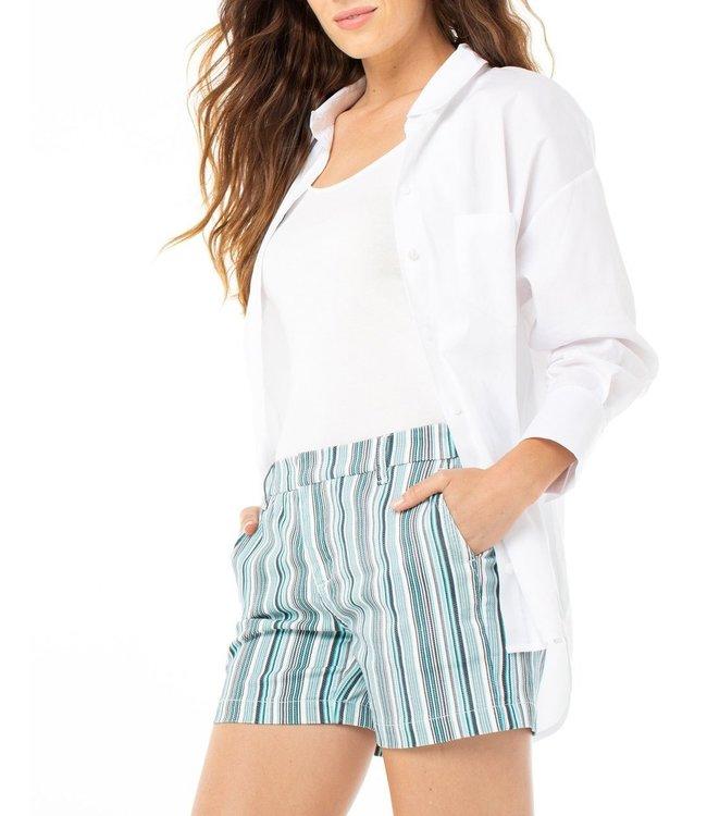 Liverpool Stripe Trouser Shorts