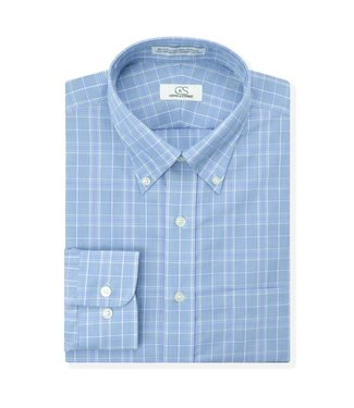 Cooper & Stewart Non-Iron Glen Plaid Button Down Shirt