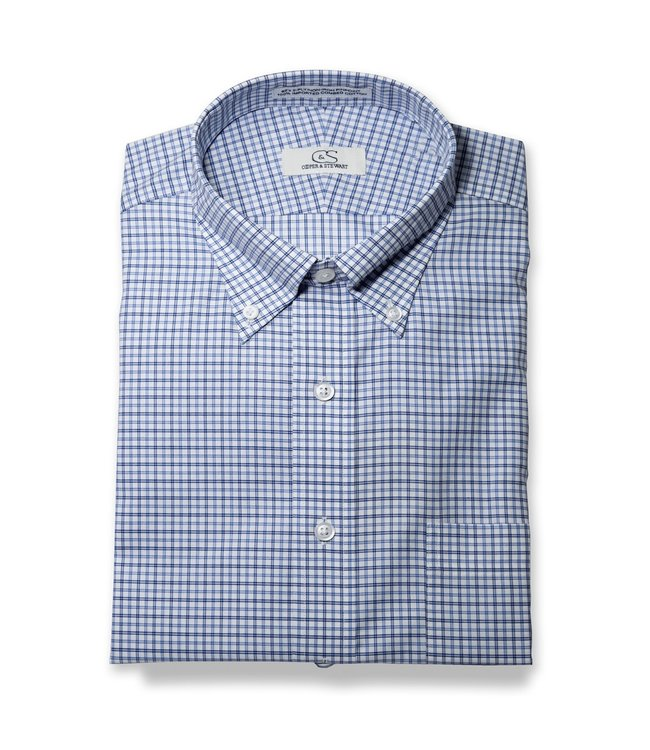 Cooper & Stewart Laredo Plaid Button Down Shirt
