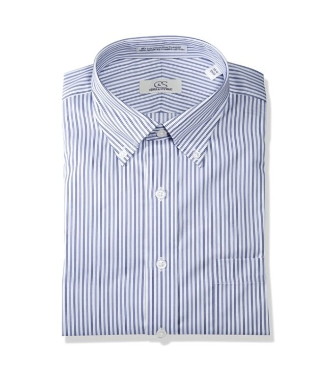 Cooper & Stewart Manhattan Stripe Dress Shirt