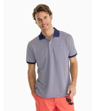 Southern Tide Jack Stripe Performance Polo