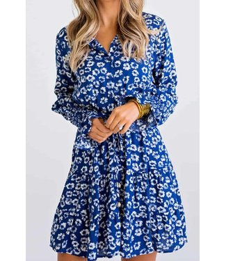 Karlie Floral Tiered Dress