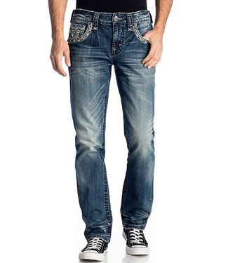 Rock Revival Kliner Alternate Straight Fit Jeans