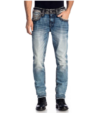 Rock Revival Welton Tapered Fit Jeans