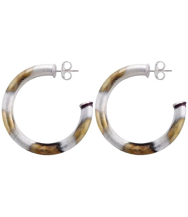 Sheila Fajl Chantal Hoop Earrings