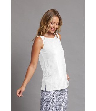 Multiples High Neck Knit Tank Top