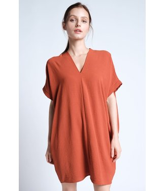 Karlie Chiffon V-Neck Dress