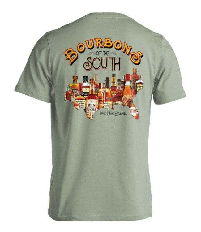 Live Oak Bourbons of the South T-Shirt