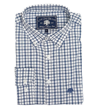 Live Oak Melange Check Sport Shirt