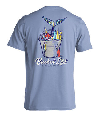 Live Oak Bucket List T-Shirt