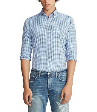 Polo Ralph Lauren Tattersall Classic Fit Performance Twill Shirt