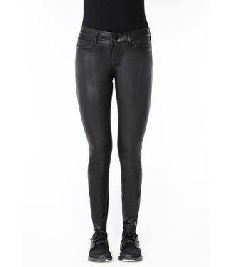 Articles of Society AoS Black Diamond Waxed Sarah Skinny Jeans
