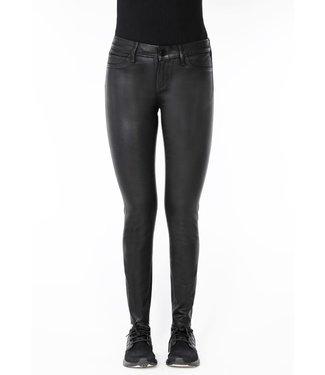 Articles of Society AoS Black Diamond Waxed Sarah Skinny Jeans