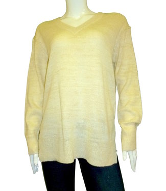 KLD Lurex  V-neck Sweater