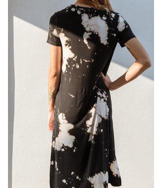 KLD Tie Dye Side Slit Dress