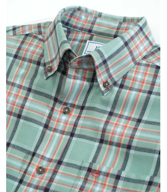 Southern Tide Plaid Sport Shirt
