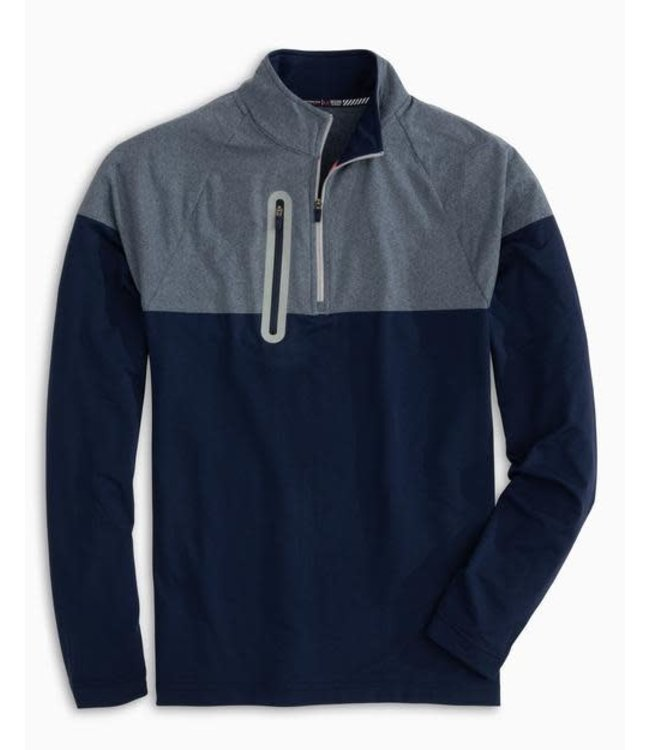 Southern Tide Bow Rider Quarter Zip Sweater