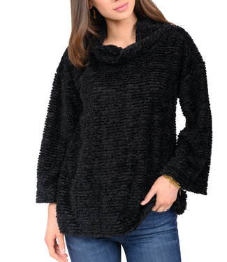 Ivy Jane Fuzzy Chenille Popover Sweater