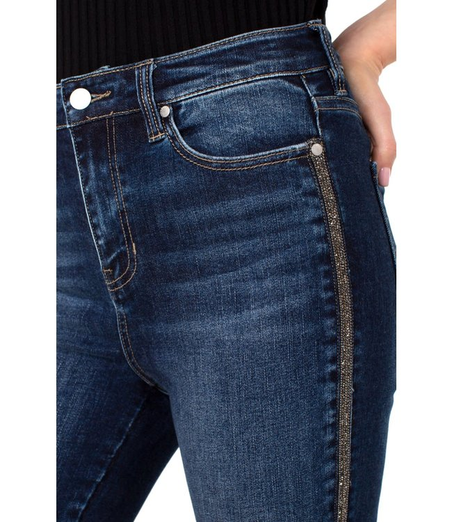 Liverpool Novelty Trim Abby Hi Rise Ankle Skinny Jeans