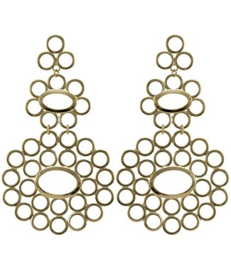 Sheila Fajl Galit Circle Earrings