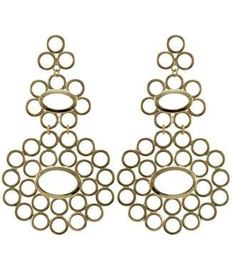 Sheila Fajl Galit Circle Earrings