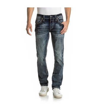 Rock Revival Alard Alternate Straight Jeans