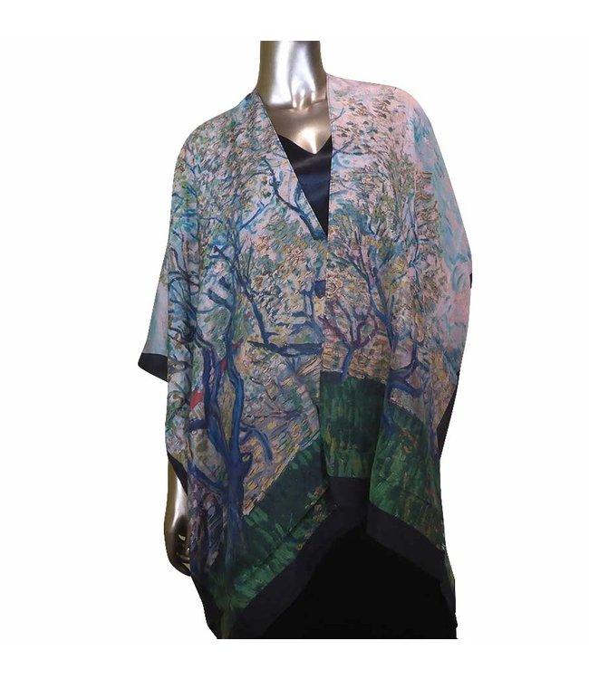 Cocoon House Long Silk Kimono