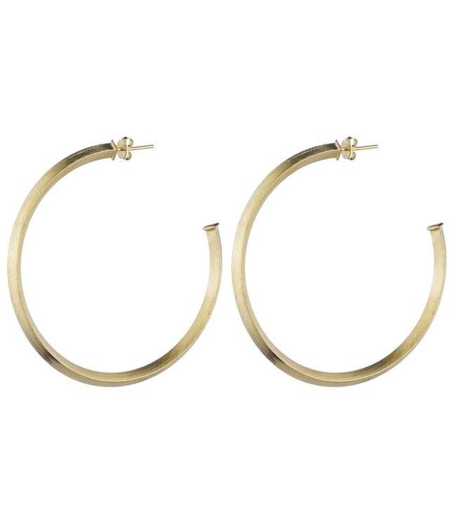 Sheila Fajl Celine Hoop Earrings