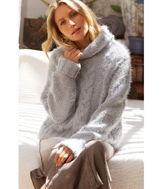 Pol Mohair Turtleneck Sweater