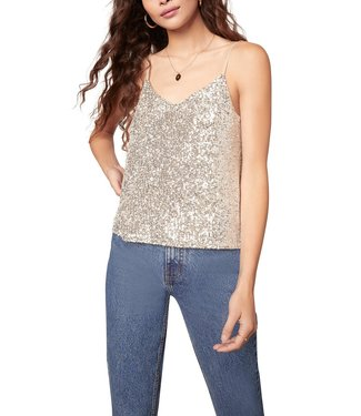 BB Dakota Hide & Sequin Top