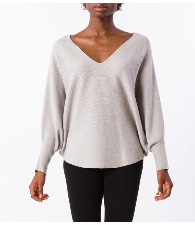 Kerisma Ryu V Neck Dolman Sleeve Top