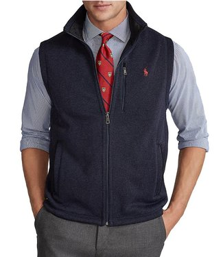 Polo Ralph Lauren Full Zip Sweater Fleece Vest
