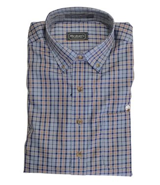 Abraham's Darryl Tailored Fit Cotton Boll Shirt