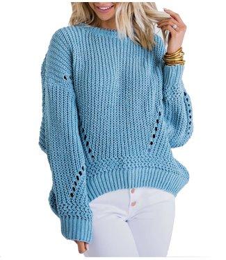 Karlie Chenille Crew Sweater