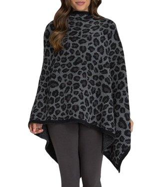 Barefoot Dreams CozyChic Leopard Poncho