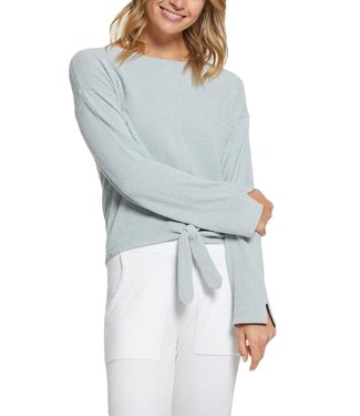 Barefoot Dreams CozyChic Ultra Lite Tie Front Sweater