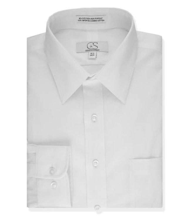 Cooper & Stewart Spread Collar Dress Shirt