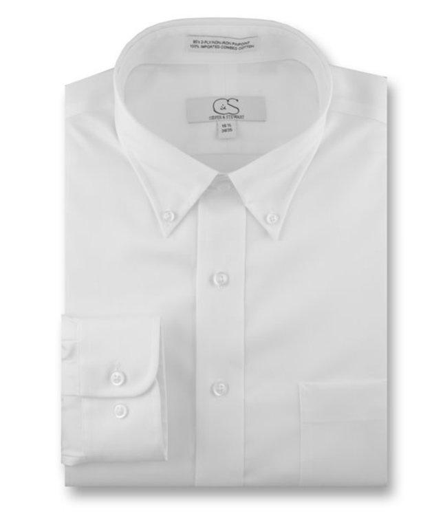 Cooper & Stewart Button Collar Dress Shirt
