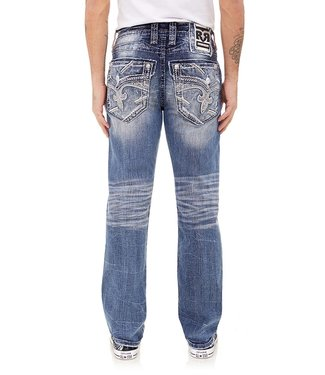 Rock Revival Gian Straight Cut Jean