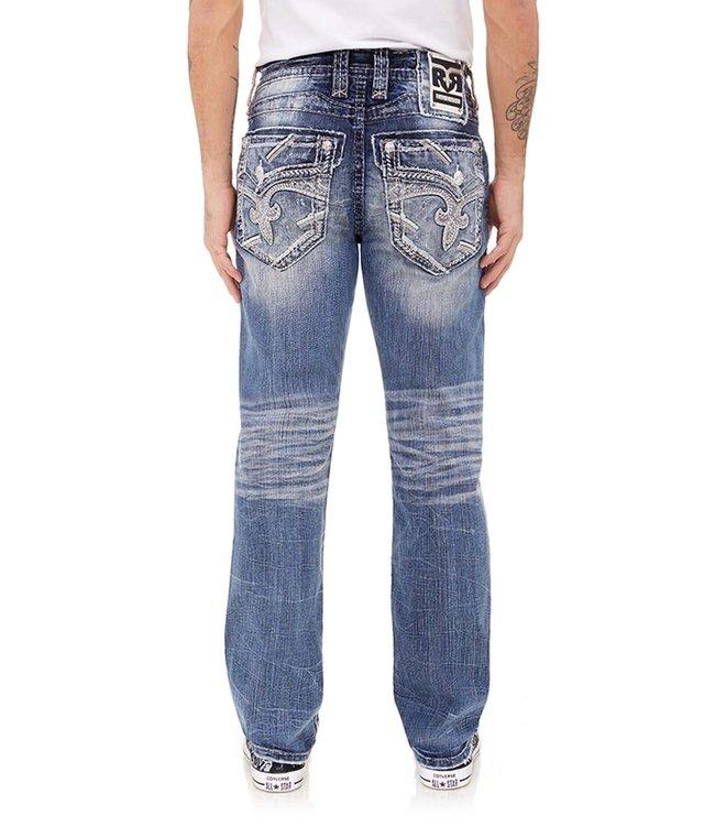 Rock Revival Gian Straight Cut Jean