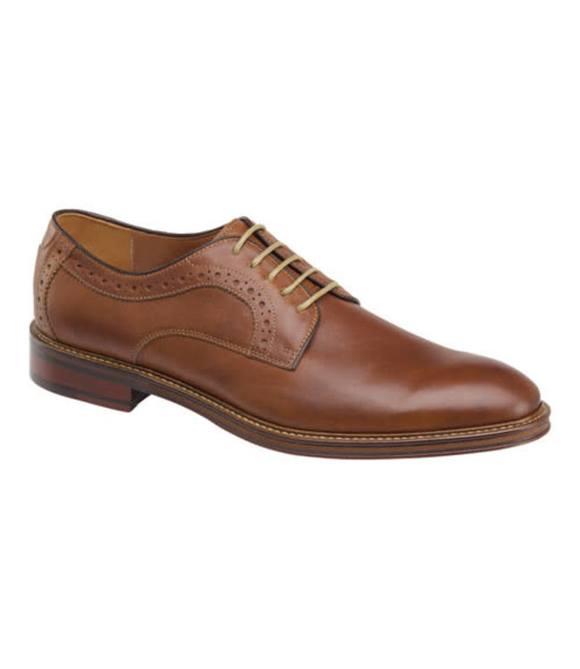 Johnston and Murphy Warner Plain Toe Oxford Dress Shoes