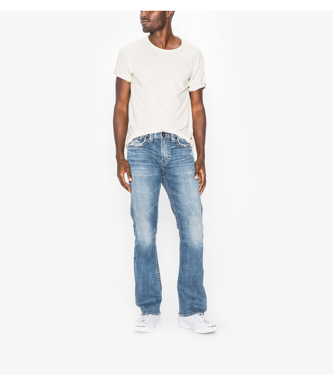 Silver Craig Easy Fit Bootcut Jean